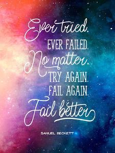 Ever Tried Ever Failed by Elena David