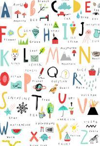 Hand Drawn Alphabet by Elena David