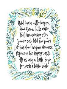Hold Him A Little Longer by Elena David