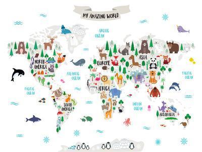 My Amazing World Map
