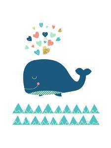 Scandi Whale by Elena David
