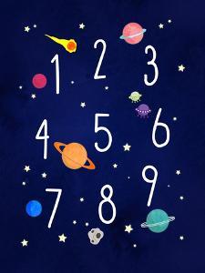 Space Numbers by Elena David