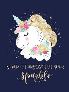Sparkly Unicorn by Elena David