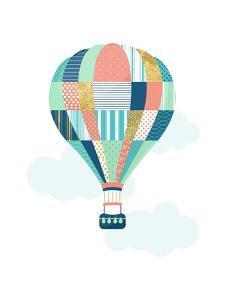 Textured Balloon by Elena David