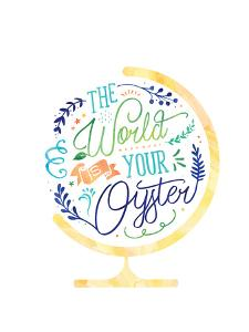 The World Is Your Oyster by Elena David