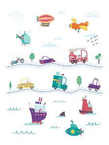 Things That Go by Elena David