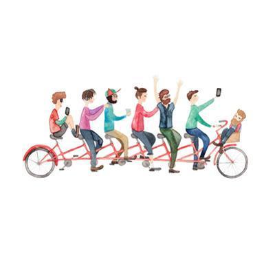 Bike Ride by Elena O'Neill