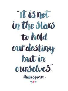 Skakespeare Quote by Elena O'Neill