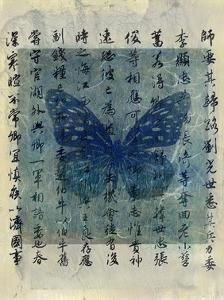 Butterfly Calligraphy II by Elena Ray