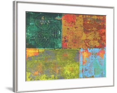 Colorful Leaf Imprint II