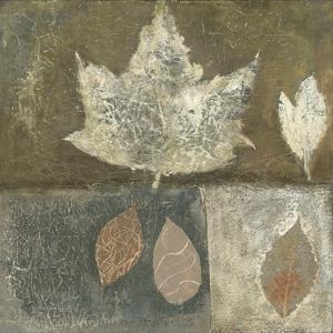 Neutral Leaves I by Elena Ray