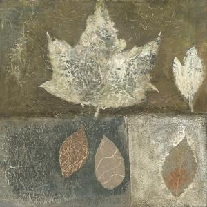 Neutral Leaves I by Elena Ray