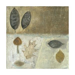 Neutral Leaves III by Elena Ray