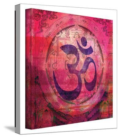Om Mandala gallery-wrapped canvas