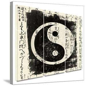 Tao 3 piece gallery-wrapped canvas by Elena Ray