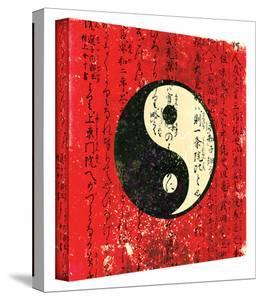 Yin Yang gallery-wrapped canvas by Elena Ray