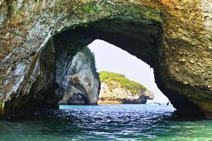 Los Arcos National Marine Park in Mexico near Puerto Vallarta by elenathewise
