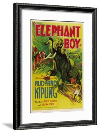Elephant Boy, 1937--Framed Photo