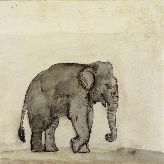 Elephant, C.1790-Gungaram Tambat-Giclee Print