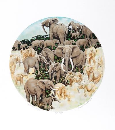 Elephant Composition-Caroline Schultz-Limited Edition