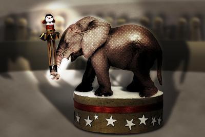 Elephant Dancer-Carrie Webster-Giclee Print