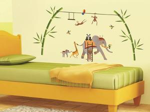 Elephant Fantasy Wall Decal Sticker