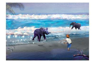 Elephant Joy-Nancy Tillman-Art Print