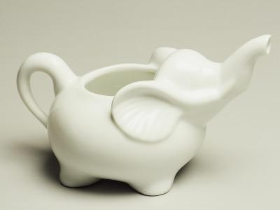 Elephant-Shaped Milk Jug, Ceramic, La Porcellana Bianca, Italy--Giclee Print