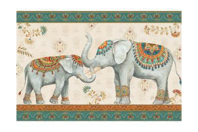 Elephant Walk I-Daphne Brissonnet-Art Print