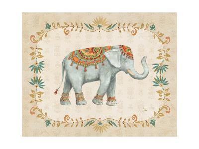 Elephant Walk II-Daphne Brissonnet-Art Print