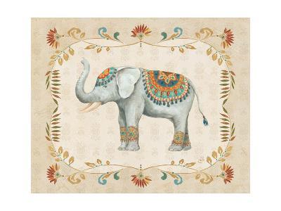 Elephant Walk III-Daphne Brissonnet-Art Print