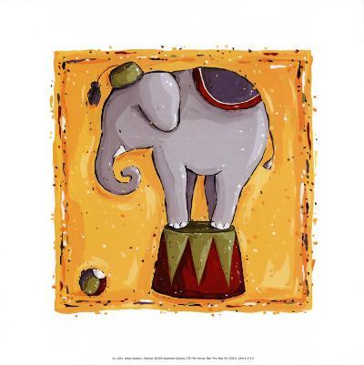 Elephant-Wilma Sanchez-Art Print