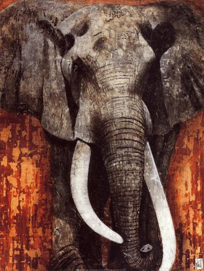 Elephant-Fabienne Arietti-Art Print