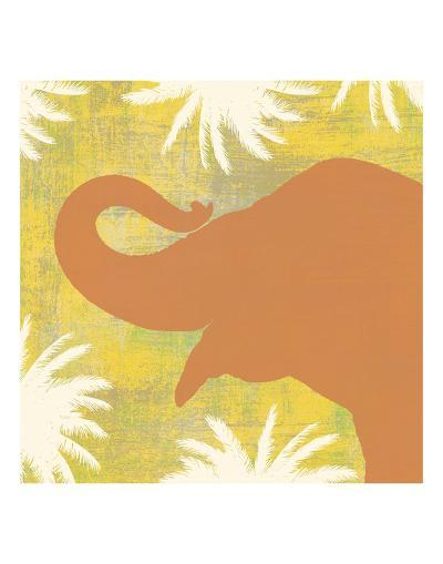 Elephant-Erin Clark-Art Print