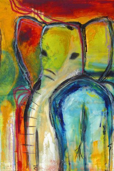 Elephant-Jami Vestergaard-Art Print