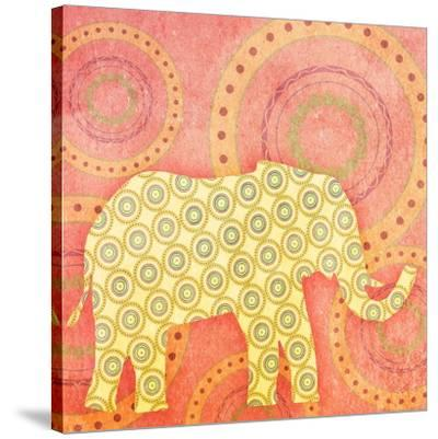Elephant--Stretched Canvas Print