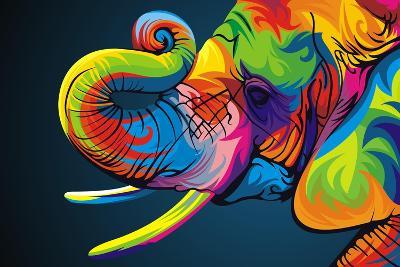 Elephant-Bob Weer-Giclee Print