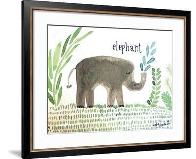 Elephant-Katie Doucette-Framed Art Print