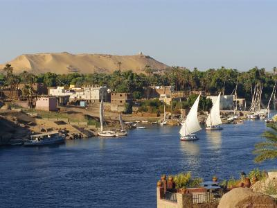 Elephantine Island and River Nile, Aswan, Egypt, North Africa-Robert Harding-Photographic Print