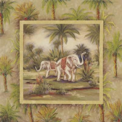 Elephants II--Art Print