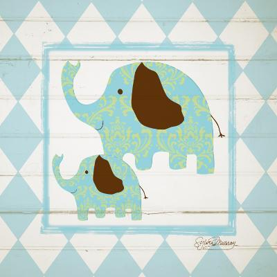 Elephants-Sylvia Murray-Art Print