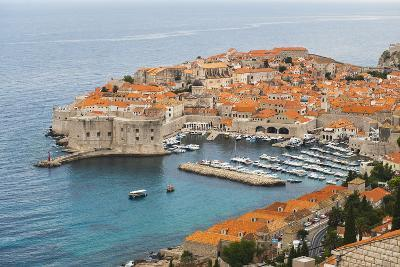 Elevated View of Dubrovnik Old Town-Matthew Williams-Ellis-Photographic Print