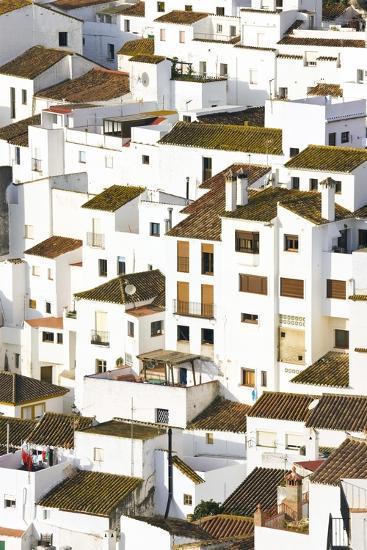 Elevated View of Moorish Houses; Casares, Malaga Province, Spain-Design Pics Inc-Photographic Print