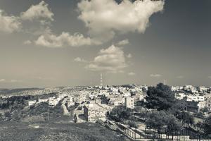 Elevated view of the new town, Umm Qais, Gadara, Jordan