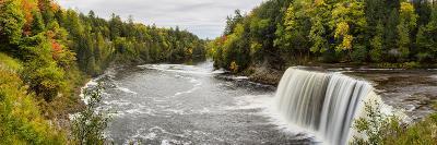 Elevated View of Waterfall, Tahquamenon Falls, Tahquamenon Falls State Park, Chippewa County--Photographic Print