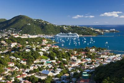Elevated View over Charlotte Amalie-Gavin Hellier-Photographic Print