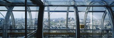 Elevated Walkway in a Museum, Pompidou Centre, Beauborg, Paris, France--Photographic Print