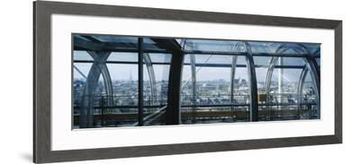 Elevated Walkway in a Museum, Pompidou Centre, Beauborg, Paris, France--Framed Photographic Print