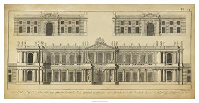 Elevation du Grand Hotel-Denis Diderot-Giclee Print