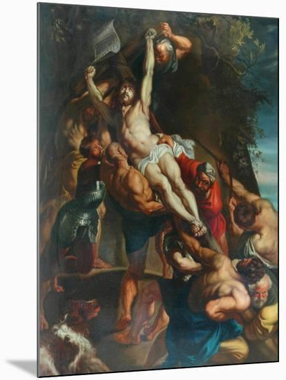 Elevation Of The Cross--Mounted Giclee Print